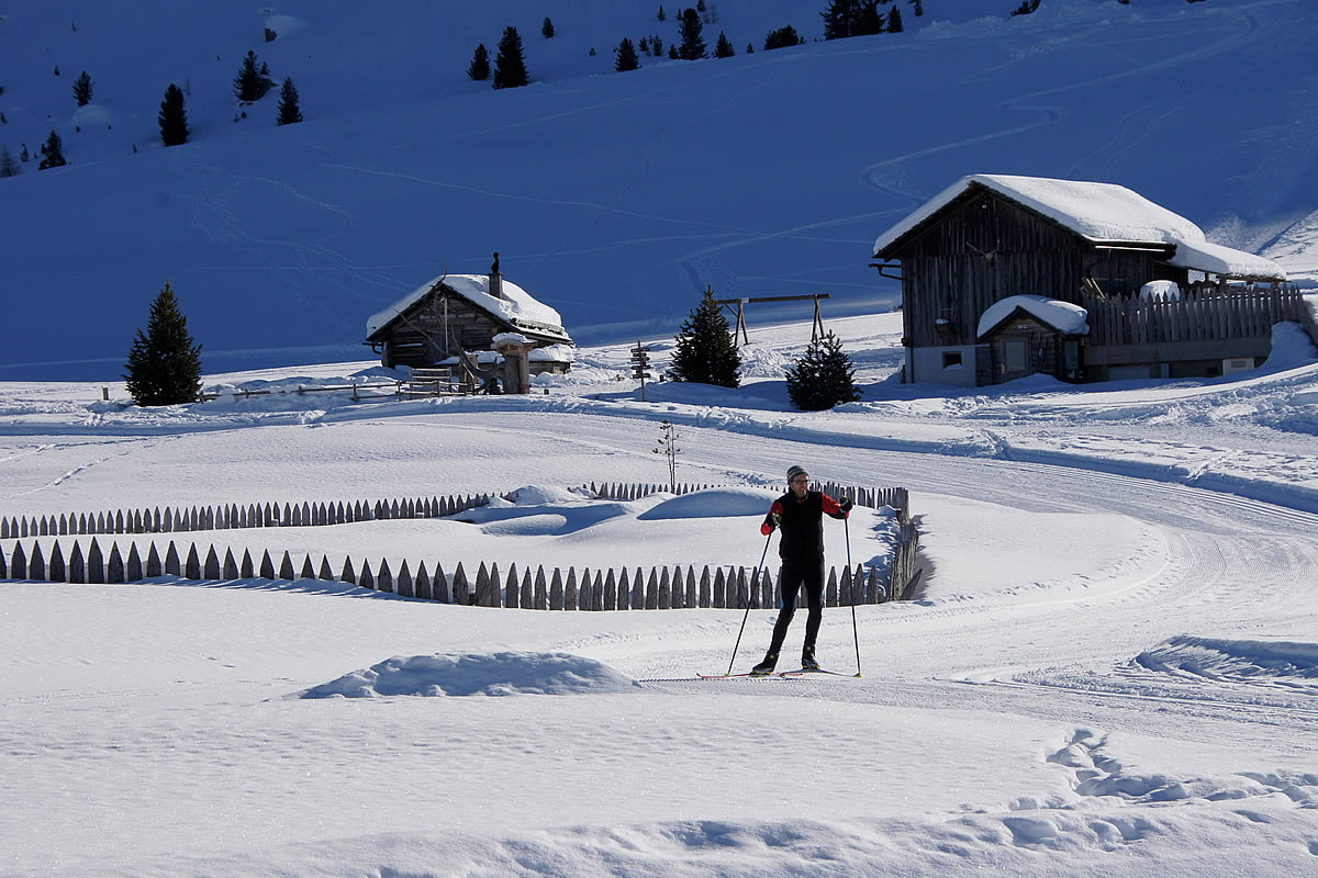 Cross country skiing Armentara