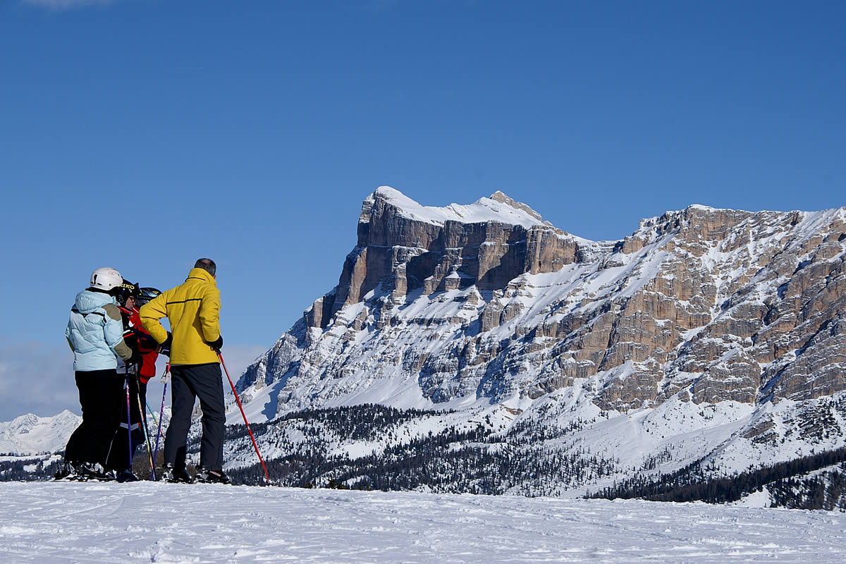 Skiing in Alta Badia